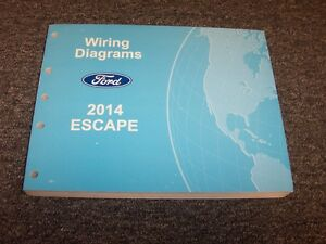 image is loading 2014-ford-escape-crossover-electrical-wiring-diagram -manual-