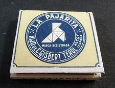 ANTIQUE CIGARETTE ROLLING PAPER LA PAJARITA EARLY 1900 TOBACCIANA COLLECTIBLE 17