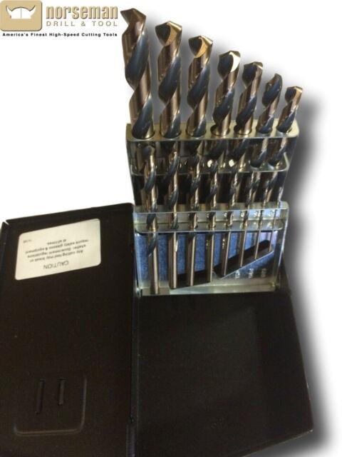 Fastenal 0323441 44170 SP-29P 29 Piece Drill Bit Set USA Jobber Length Set New