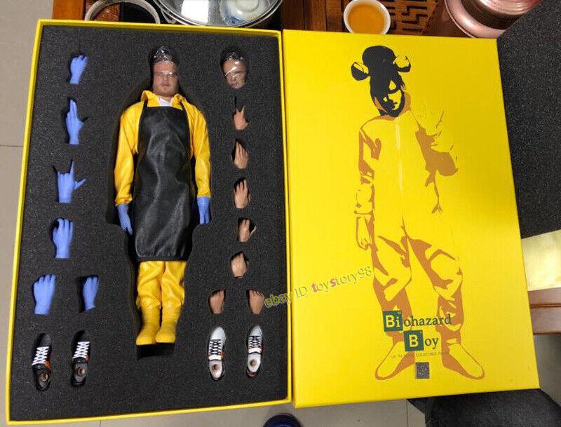 CGL Toys MF07 1 6 Jesse Pinkman Breaking Bad Biohazard Boy Model Action Figure