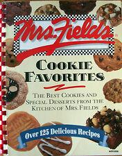 Cookbook MRS. FIELDS COOKIE FAVORITES The Best Cookies & Special Desserts 1998