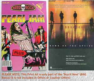 Pearl-Jam-Soundgarden-Hard-Rock-Comics-8-VHTF-NEWSSTAND-Variant-Comic