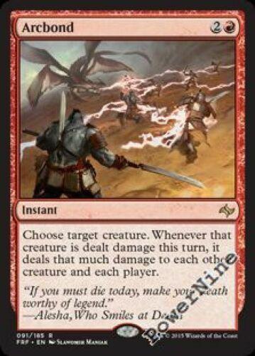 4 Arcbond = Red Fate Reforged Mtg Magic Rare 4x x4