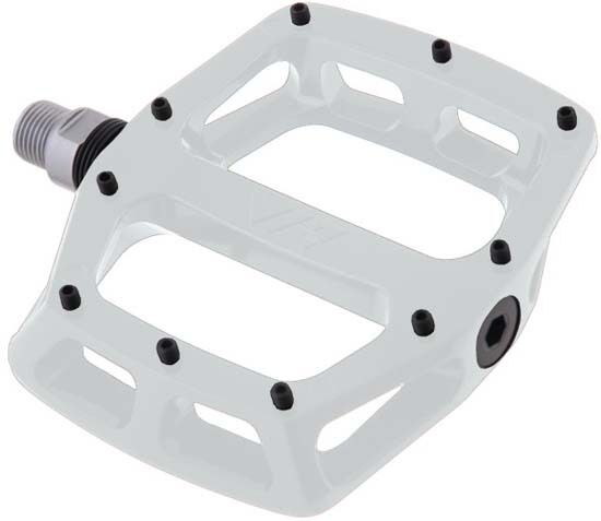 DMR V12 Sealed Bearings MTB Bike Bicycle Flat Platform Pedals 9 16  White