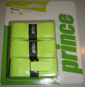 Prince-Absorbent-Maxtac-Overgrips-Tennis-Badminton-Squash-Rackets-OverGrip
