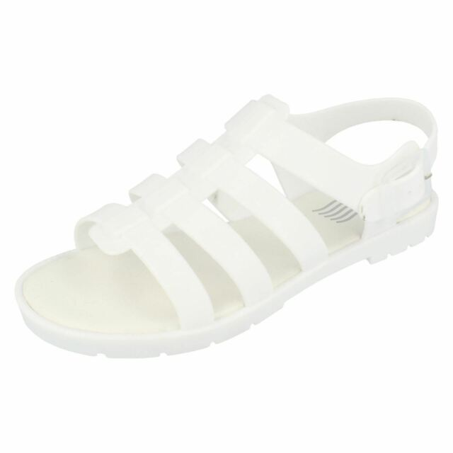 31759301c9e Ladies Waves F0837 Jelly Sandals White Standard UK 8 for sale online ...