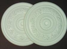 Decoratori AFFARE - 2 x Polistirolo Soffitto ROSE 400mm # GRATIS P&P SHOP sporchi