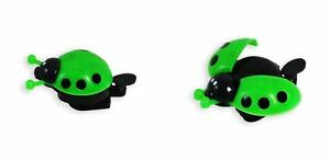 Lovely-KID-Beetle-Ladybug-Ring-Bell-Ciclismo-Biciclette-Bicicletta-Allarme-Corno-Verde