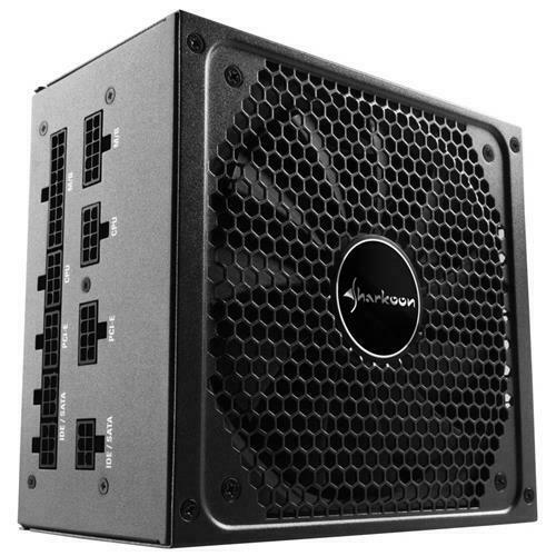SHARKOON Alimentatore SilentStorm Cool Zero 80 Plus Gold ATX 2.4 750W Colore Ner