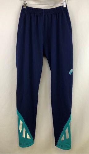 Mens Running Athletic Pants 110369-410 L NWT Vintage 1991 NIKE Dri-Fit F.I.T