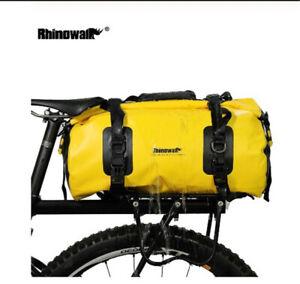 Waterproof Portable Bicycle Rear Rack Bag Seat Trunk Backpack Luggage Pannier