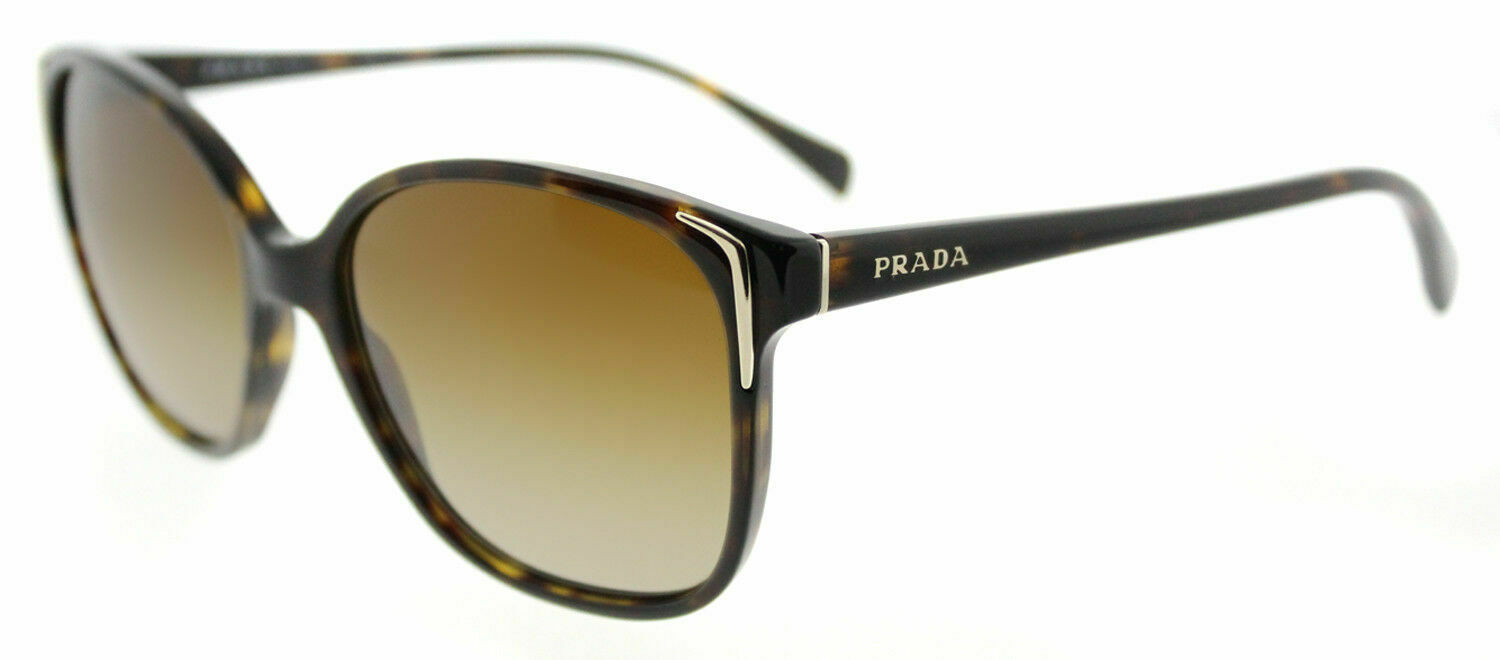 8ed9055a3f PRADA 01os Sunglasses 2au6e1 Havana 100 Authentic for sale online