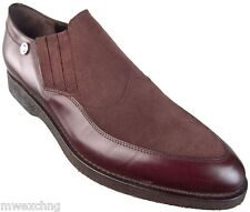 Authentic $890 Cesare Paciotti US 9 Leather Loafers Italian Designer Shoes