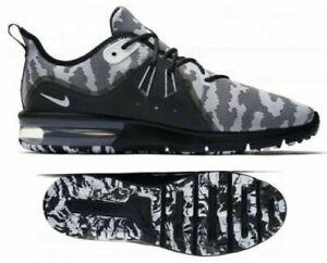 Detalles acerca de Nuevo NIKE MAX SEQUENT 3 Premium Camuflaje AIR Para hombres Zapatos para Correr Negro Blanco Talla 9 mostrar título original