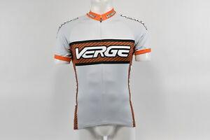 Verge V-Gear CoreLogic Men/'s S//S Cycling Jersey Orange//Black//Grey XL Brand New