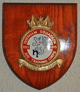 1015-Horsham-Squadron-Air-Training-Corps-plaque-crest-shield-ATC-RAF-Cadets