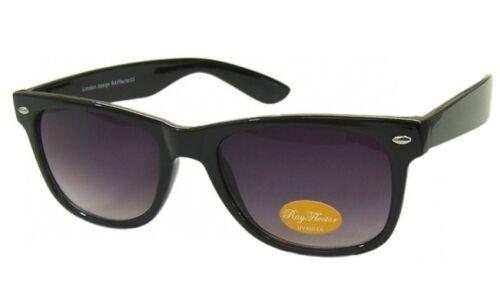 Klassisch Retro Designer Mode Quadratisch Gradiant Linse Sonnenbrille Rabe