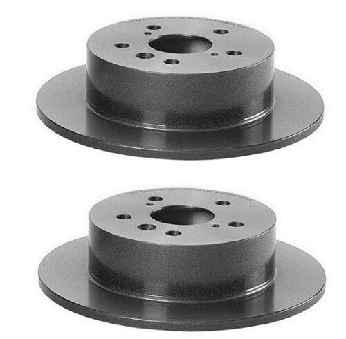 Rear Set Of 2 Disc Brake Rotors /& Pads Brembo 08B56611 //P83089N FOR Toyota Camry