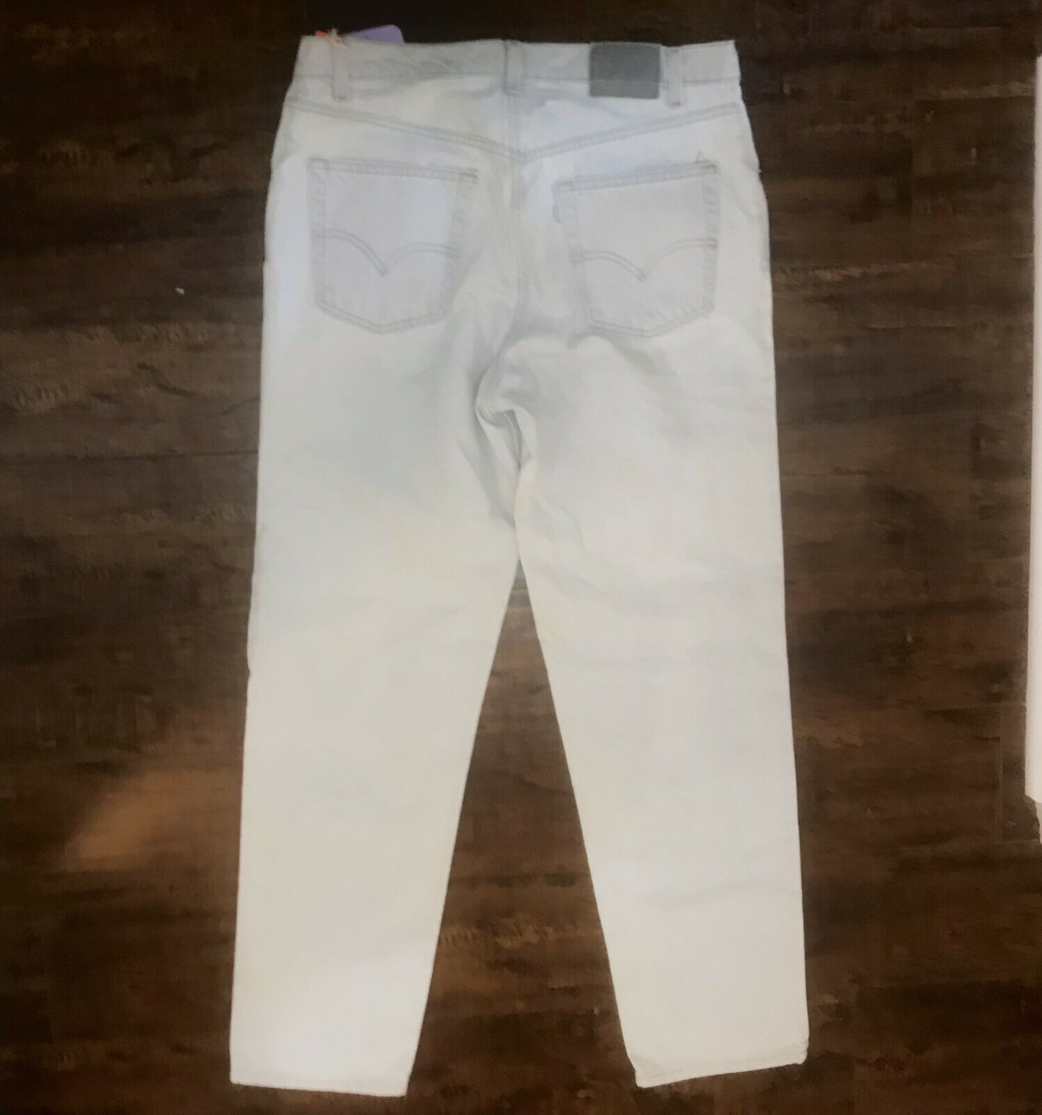 Vintage Levis Silvertab 36x32 Made In USA - image 8