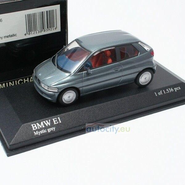 MINICHAMPS BMW E1 MYSTIC GREY METALLIC 430023006
