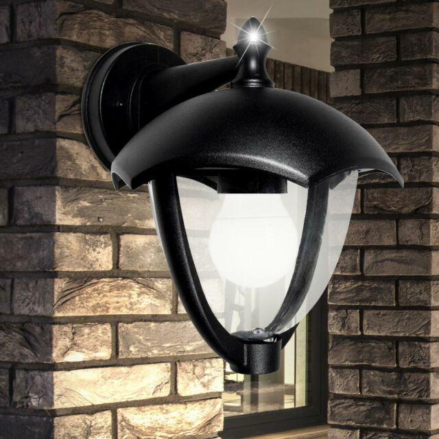 Außen Lampe ALU Wand Leuchte Fassaden Beleuchtung Veranda Strahler Laterne Hof
