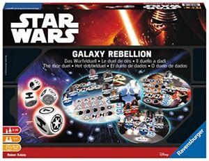 Star Wars Galaxy Rebellion Ravensburger 26665 Il Duello a Dadi New Gioccatolo