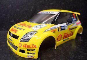 New Tamiya XB Suzuki Swift WRC Body For 225mm Wheelbase M-Chis ...