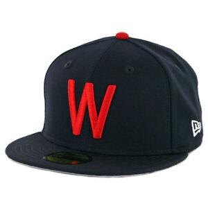 New-Era-5950-Washington-Senators-034-Coop-Wool-1952-034-Fitted-Hat-Dark-Navy-MLB-Cap