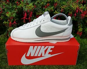 on sale 3e5f9 e5f03 Image is loading BNWB-Genuine-Nike-Classic-Cortez-Leather-SE-Sail-