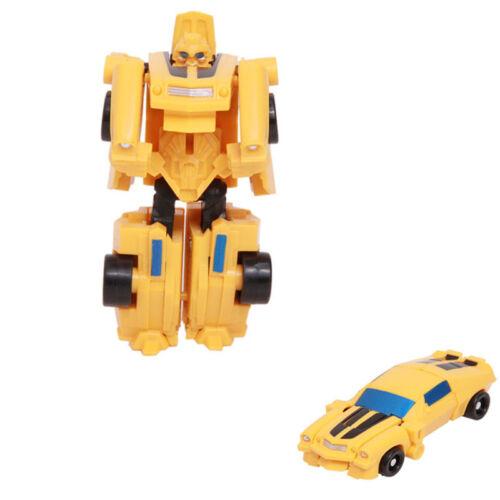 10 cm Transformation Mini Robot Action Figure voitures char avion Garçon Fille Jouets Cadeau