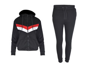 BOYS-TRACKSUIT-Junior-Kids-Full-Zip-Jogging-Football-Top-Bottoms-Age-6-14