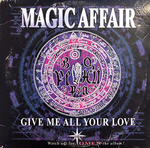 Magic-Affair-CD-Single-Give-Me-All-Your-Love-Europe-VG-G