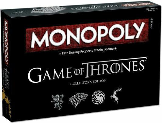 Monopolio Juego de Tronos, rápido tratar Propiedad Comercial Juego De Mesa