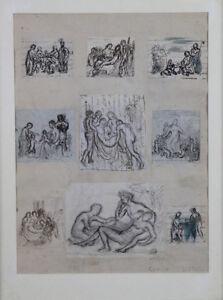 Camille-Bellanger-1853-1923-Scene-di-la-Vita-Del-Cristo-Disegni-Saint-Cyr
