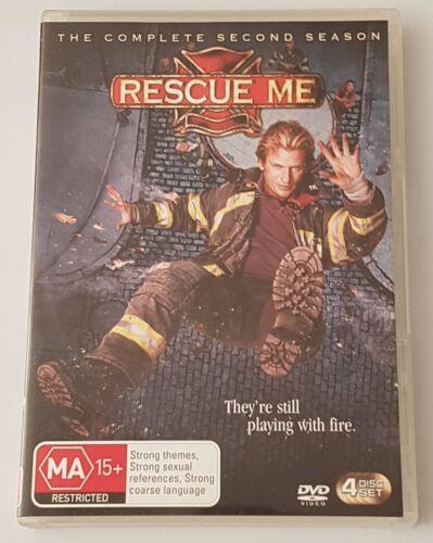 1 of 1 - Rescue Me : Season 2 DVD, 2006, 4-Disc Set (#DVD01705)