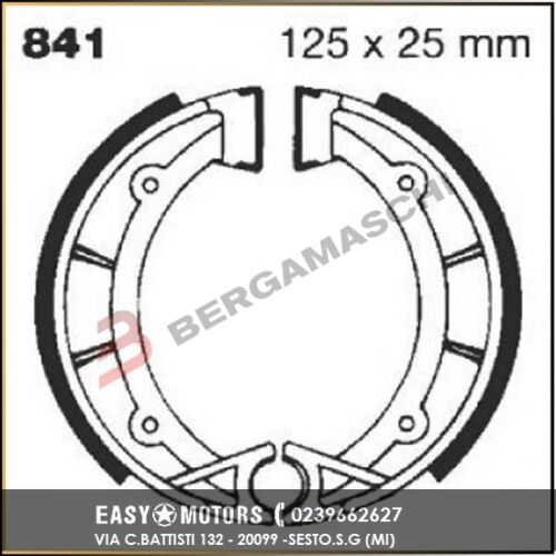 R2584101 EBC GANASCE APRILIA//BETA//FANTIC50//125//250