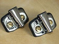 >vergoldet+verchromt< Türzapfen Tür Bügel Audi A3/8L 1,8Turbo >gold+chrom<