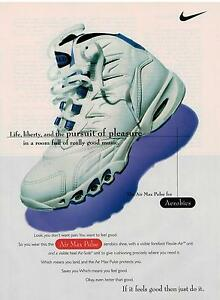 best service 12a0f f351c Image is loading 1995-NIKE-Air-Max-Pulse-athletic-footwear-shoes-
