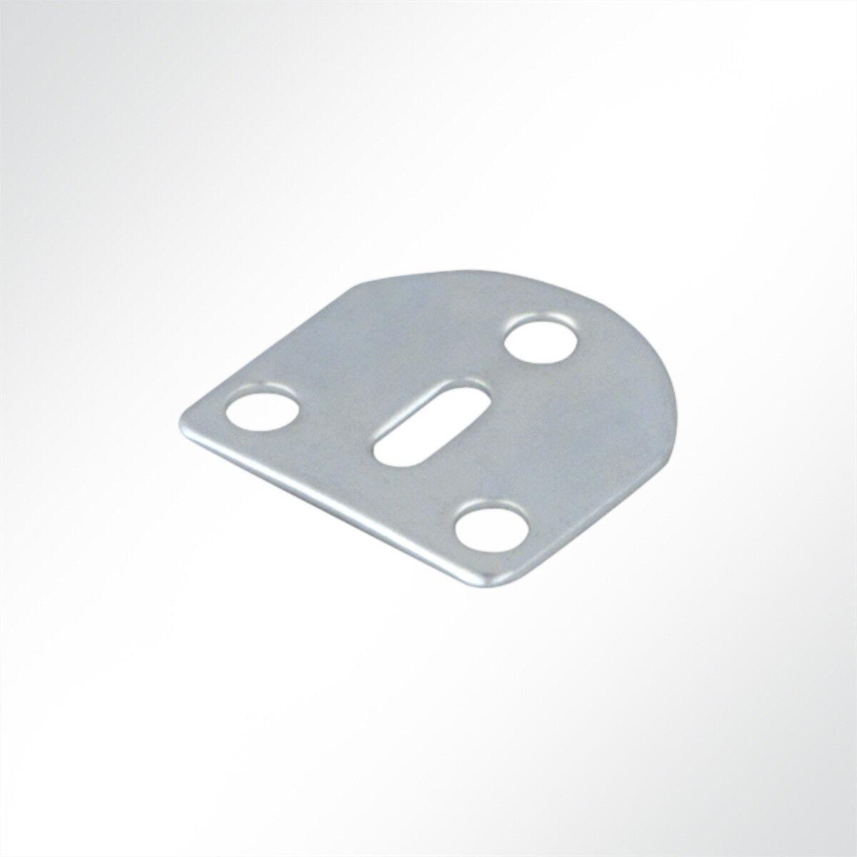 Lysel® Gegenplatten 40x35mm für 4-fachrolle Pro