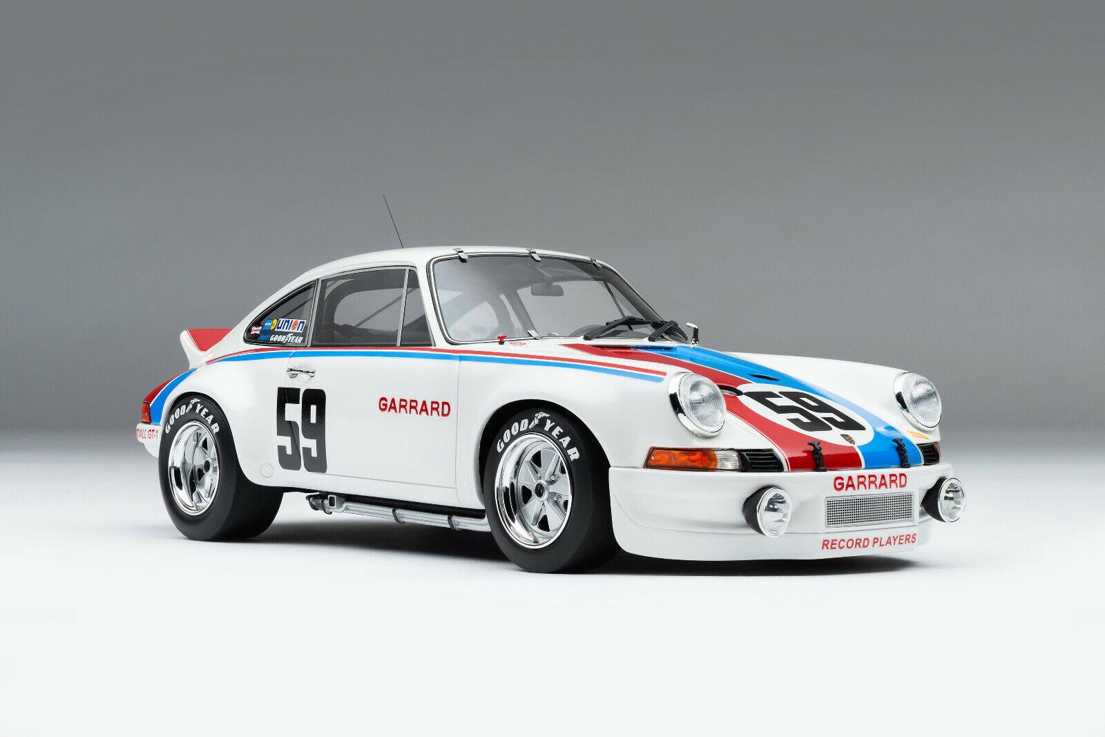 Porsche 911 rsr 2.8 Brumos daytona hurley haywood amalgama 1 18 como Exoto cmc