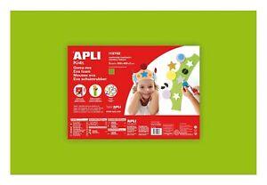 Espuma-Eva-Calor-Moldeables-40x60cm-Verde-Claro-5-Aluminio-Apli-Agipa