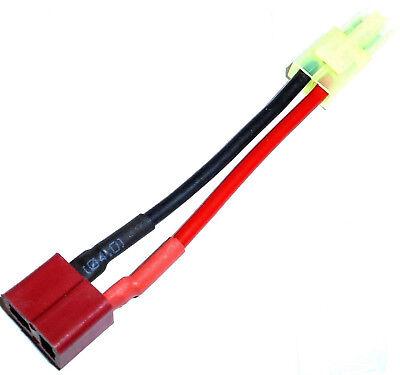 C8005B Compatible Male Tamiya to Female Micro Tamiya Convertor Adapter Cable