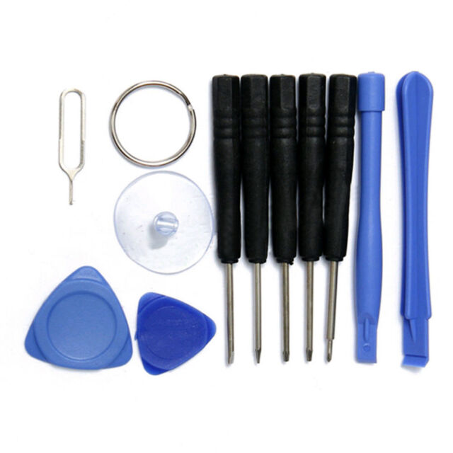 11pcs Mobile Repair Opening Tools Kit Set Pry Screwdriver For iPhone Cell Phone