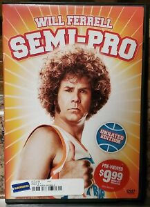 Semi-Pro-Unrated-Edition-DVD-2008-Will-Ferrell-Very-Good