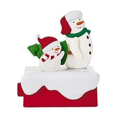 Hallmark The Perfect Tree Techno Plush Snowman