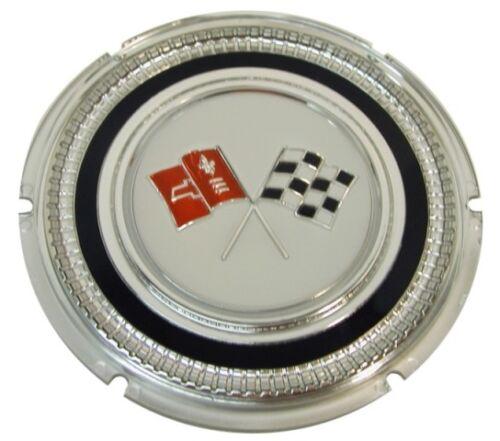 C2 Corvette 1965 Gas Lid Door Emblem