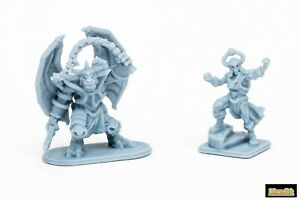 Resin-reproduction-Heroquest-Chaos-Warlock-Gargoyle-REMAKE-Fabio-Schizzo