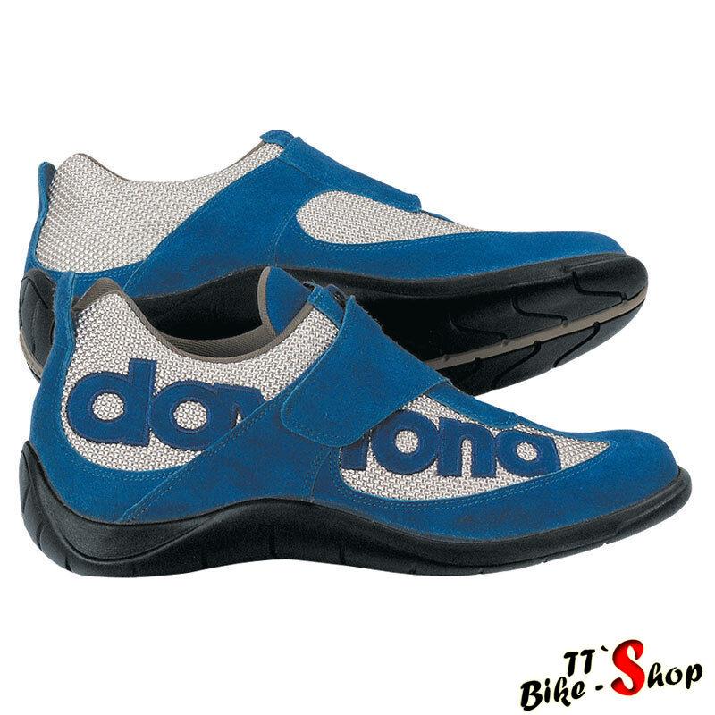 Daytona  moto Fun  zapatos en plata-azul, tamaño 39, casual, zapatos