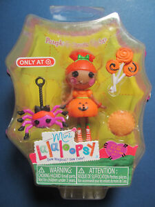 Lalaloopsy Mini Doll Target Exclusive Pumpkin Candle Light