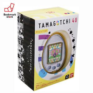 New-Bandai-Tamagotchi-4U-White-with-Tracking-Digital-Pet-Toy-from-Japan-Original